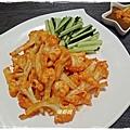 烤花椰佐芝麻醬(128)
