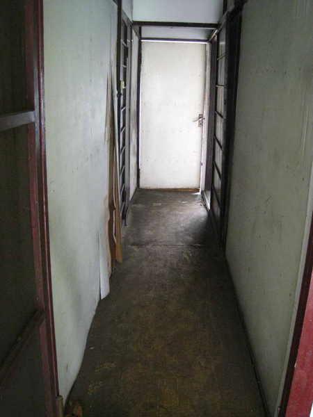 日式走廊,踩在上面嘰嘰呀呀的