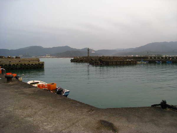 水尾漁港港內景