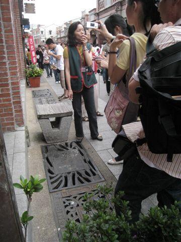 IMG_1314 三峽特有的雕飾水溝蓋