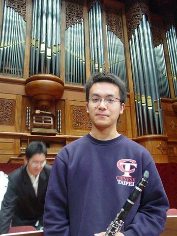 第一次吹交響 就在國家音樂廳