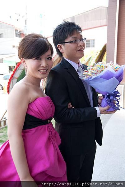 訂結婚-敬酒造型