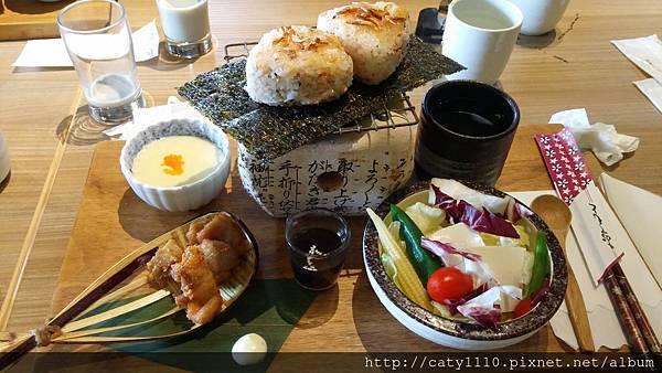 樂禾田-明太子櫻花蝦飯糰