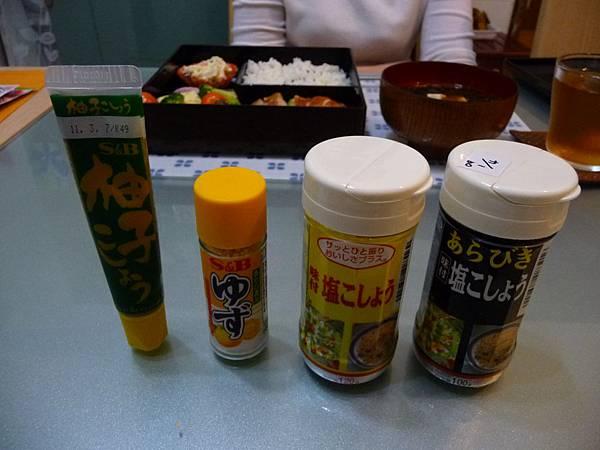 日本帶回的調味料…每一種都嚐嚐看!