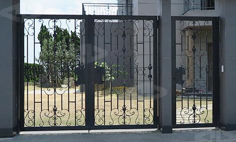 正邦精選鍛造大門