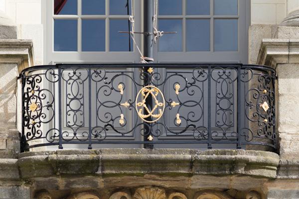 正邦鍛造-復古鐵藝欄杆