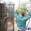 正邦鍛造鐵件整修處理工序_02高壓噴洗