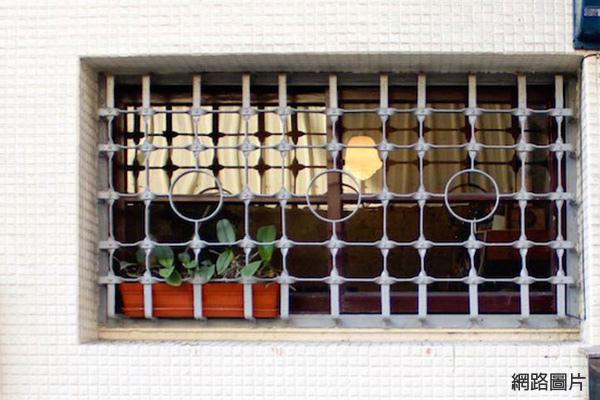 cb6688兒時回憶老鐵窗25幾何圓形1-2.jpg
