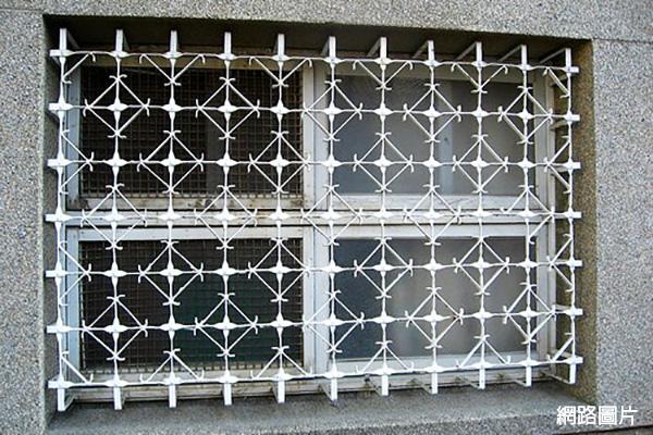 cb6688兒時回憶老鐵窗44幾何菱形1.jpg