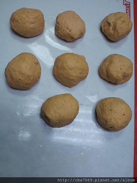 麵糰發酵1小時.