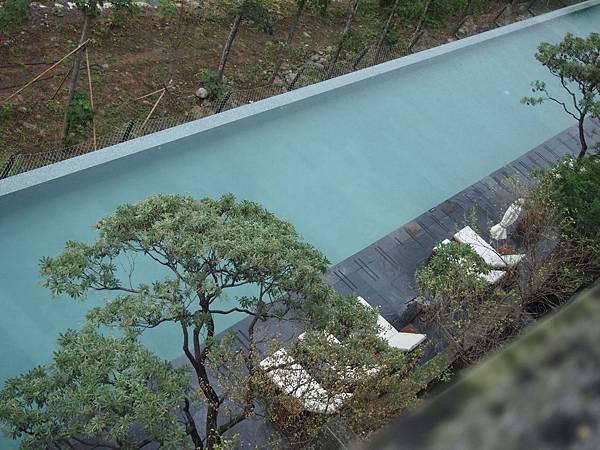 泰安觀止的游泳池