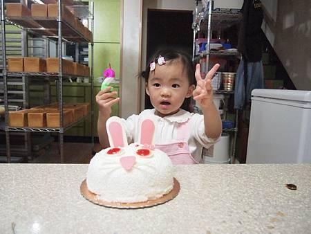 今天是我2歲生日喔