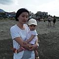 8m22d第一次去海邊(台北港)
