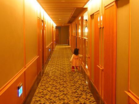 長長的走廊