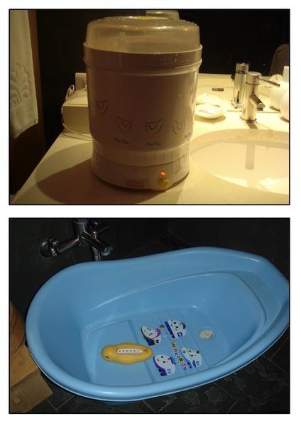 飯店貼心提供嬰兒用品