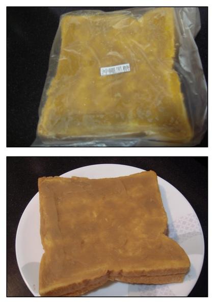 沖繩黑糖包裝袋及拆封後