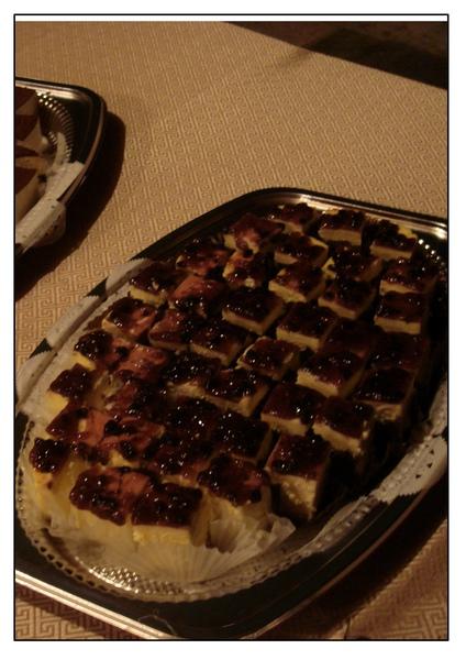 藍梅起司蛋糕
