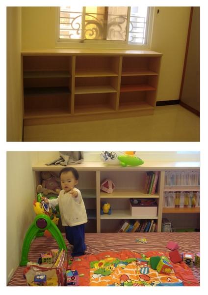 9格小孩書櫃