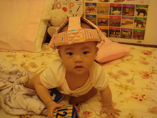 嬰兒用安全帽