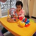 桌椅+益智玩具