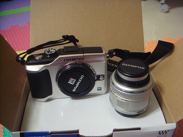 相機&鏡頭 未安裝前