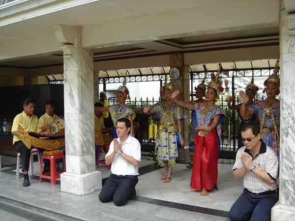 泰國傳統舞蹈1
