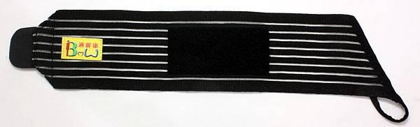 黑色透氣護腕     正面 12-24cm