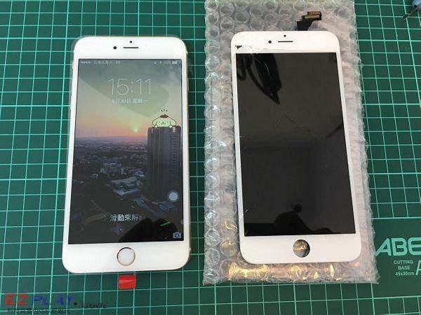 IPHONE6+ 面板破裂