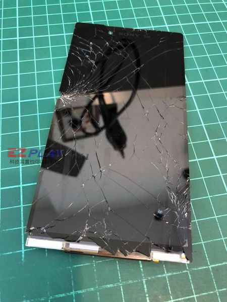 z5p面板破裂