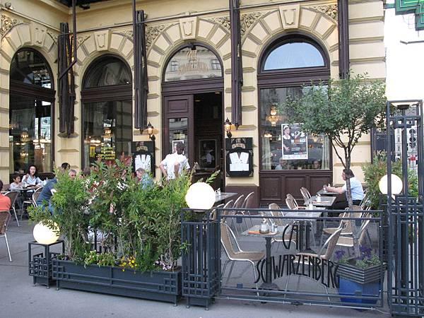 SCHWARRZENBERG黑山咖啡館.