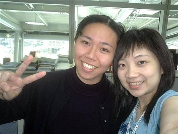 清雯與我自拍