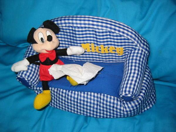 21歲生日禮物之Mickey面紙套