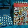 22歲生日禮物--小雞計算機、Mickey筆記本
