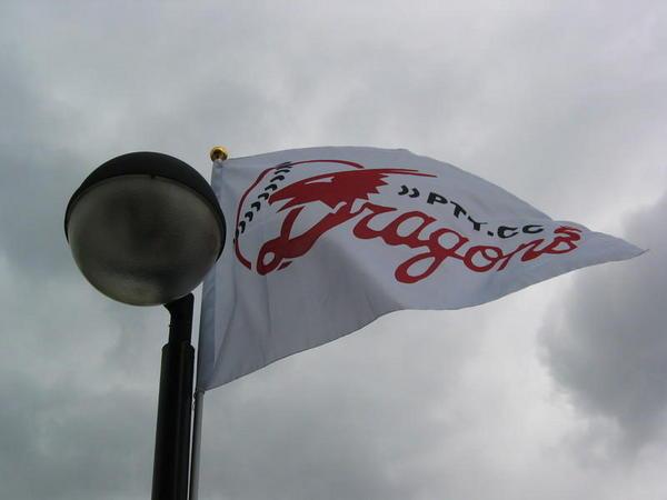 飄揚的PTT龍旗