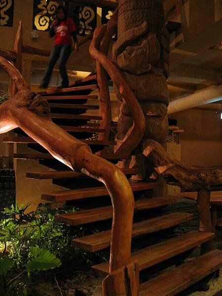 打鹿岸的樓梯