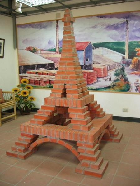 磚瓦文化館裡的塔