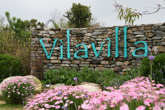 Vilavilla門口來一張