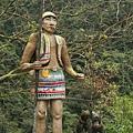 泰雅族勇士像