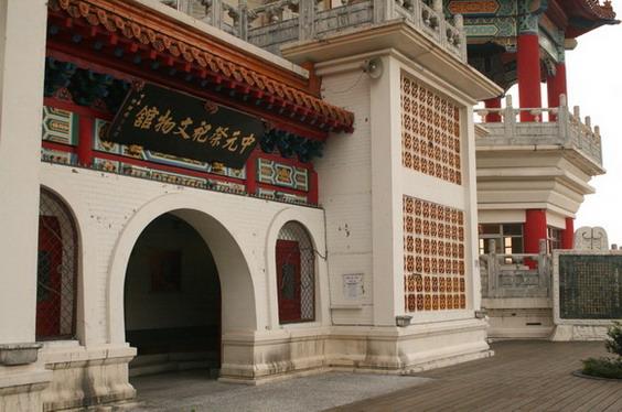 中元祭祀文化館門口