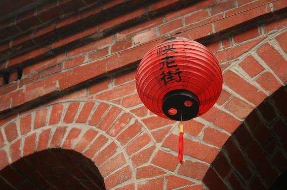 三峽老街燈籠
