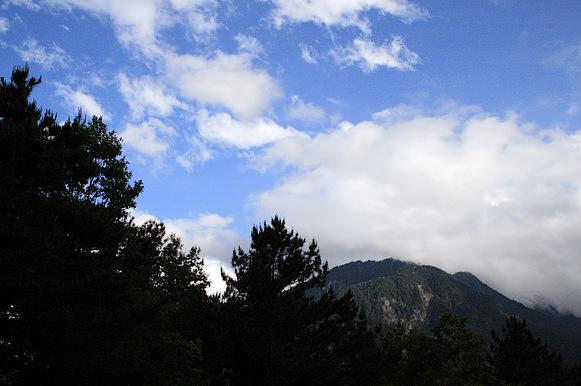 抵達觀雲山莊