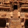 世界宗教建築縮影--婆羅浮屠樓梯