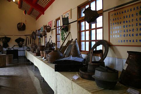 農村文化館陳列的器具