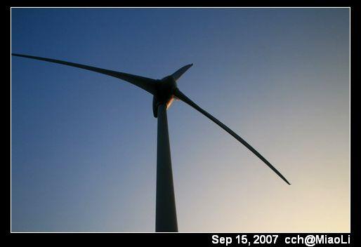 好望角的風力發電機