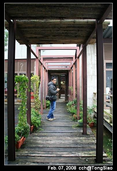 室外一個小走廊