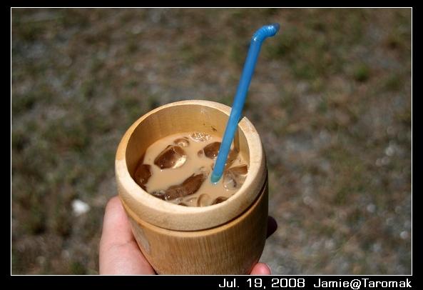 我的竹筒杯咖啡