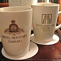 飯店Logo杯,還頗有氣質的
