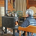 MORI內的傳統暖爐