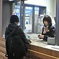 安終於親自出馬跟日本小姐講英文了