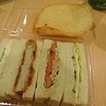 機場隨意吃之三明治+天婦羅
